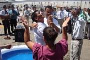 LIBERTOS DENTRO DA PRISÃO: MAIS 13 VIDAS SÃO BATIZADAS NA PENITENCIÁRIA ESTADUAL DO JACUÍ