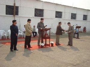 Na ocasião, foi realizada a entrega de certificados do Curso de Ética Ministerial, ministrado na Penitenciária no início do mês