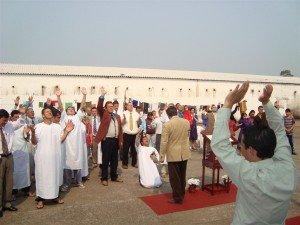 O Espírito Santo agiu de maneira especial sobre os detentos, seus familiares e visitantes