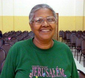 Maria Cleimar testemunhou a cura durante uma das consagrações da UF