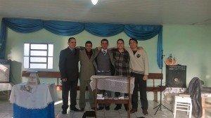 Dc. André, Aux. Deivid, ir. Rafael, Aux. Josiel, ir. Eliel