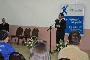 O Pr. Plauto Vanzin, Supervisor da Região Serra Gaúcha deu abertura ao trabalho