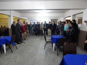 Grupo de apoio do Café Convívio da Área