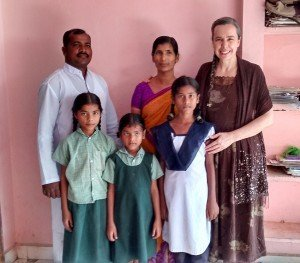Irmão Kondaya Paul e família, de Tripurantakam