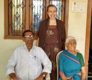 Irmão Purushotam e esposa, de Miriyanpalli