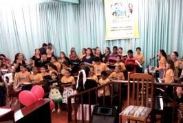 IV CONFRATERNIZAÇÃO DA EBD INFANTIL NA ÁREA NOVO HAMBURGO/RS