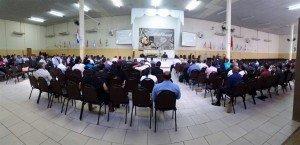 As aulas foram ministradas na Sede Internacional do Ministério Restauração