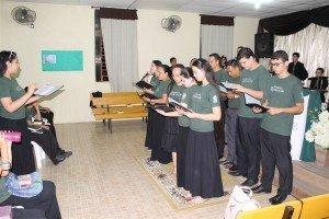 Coral de jovens da Congregação Morada do Vale I, Gravataí/RS