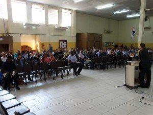 Cerca de cento e oitenta irmãos participaram do curso
