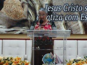 O Pilar de Oração da União Feminina, sob a coordenação da Dcª Rosângela Ourique, esteve na direção do evento