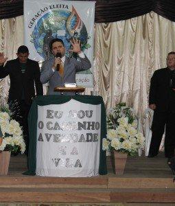No encerramento, a mensagem foi ministrada pelo Dc. Josiel Arruda, de Gravataí/RS
