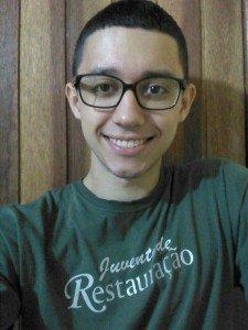 Após quase morrer afogado, o jovem Geziel compreendeu que Deus temum plano especial emsua vida