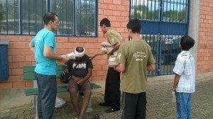 A Juventude de Taquara saiu às ruas para um grande evangelismo