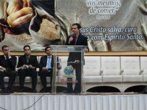 O Pb. Rafael Pacheco - Superintendente em exercício - deixou uma reflexão aos jovens