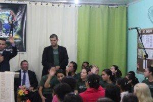 Aux. Julio, segundo líder da juventude local