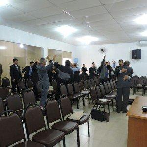 Deus agiu de forma especial entre os integrantes do Departamento de Ensino da Região