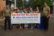 ENCONTRO DA JUVENTUDE GERAÇÃO ELEITA NA ÁREA NOVA SANTA RITA/RS
