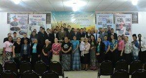 Participantes do dia de consagração