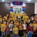 CONFRATERNIZAÇÃO DO DEPARTAMENTO INFANTOJUVENIL NA ÁREA CASCAVEL/PR