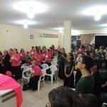 UNIÃO FEMININA E JUVENTUDE DA REGIÃO NORTE DE SANTA CATARINA E LESTE DO PARANÁ REALIZAM VIGÍLIA REGIONAL