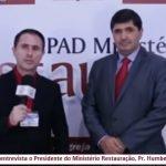 ENTREVISTA: PRESIDENTE DO MINISTÉRIO RESTAURAÇÃO FALA SOBRE OS 13 ANOS DA IGREJA