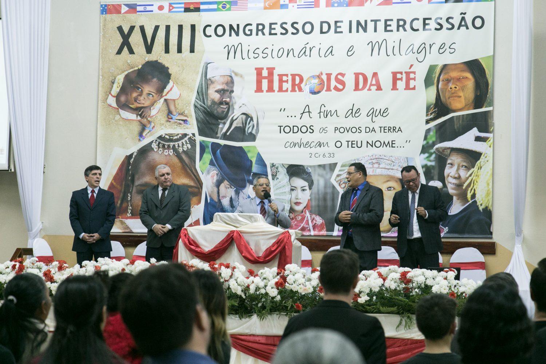 CLAMOR E CONSCIENTIZAÇÃO MISSIONÁRIA NO XVIII CONGRESSO DE INTERCESSÃO MISSIONÁRIA E MILAGRES HERÓIS DA FÉ – Sexta-feira e Sábado