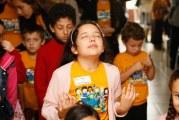 CHUVA INTENSA NÃO IMPEDE A BÊNÇÃO DE DEUS SOBRE OS PEQUENOS NO VII RETIRO GERAL INFANTIL