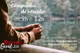 CAMPANHA DE ORAÇÃO – 9H e 12H