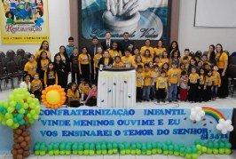 ÁREA CACHOEIRINHA REALIZA SUA 9ª CONFRATERNIZAÇÃO INFANTIL