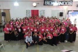 UNIÃO FEMININA DA REGIÃO NORTE DE SANTA CATARINA E LESTE DO PARANÁ PREPARA-SE PARA O ENCONTRO COM O NOIVO EM MAIS UM RETIRO REGIONAL