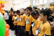 CRIANÇAS EM FESTA NO X CONGRESSO GERAL INFANTIL