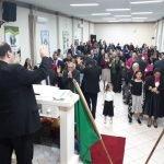 ÁREA SÃO LEOPOLDO OESTE REALIZA MAIS UMA CONFRATERNIZAÇÃO DE EVANGELISMO E MISSÕES