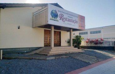 EM MEIO À PANDEMIA, SANTO AMARO DA IMPERATRIZ/SC RECEBE UMA PORTA DE EVANGELIZAÇÃO