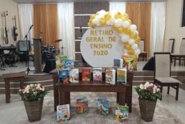 RETIRO GERAL DE PROFESSORES 2020: UMA REALIDADE, APESAR DA DISTÂNCIA E DA PANDEMIA