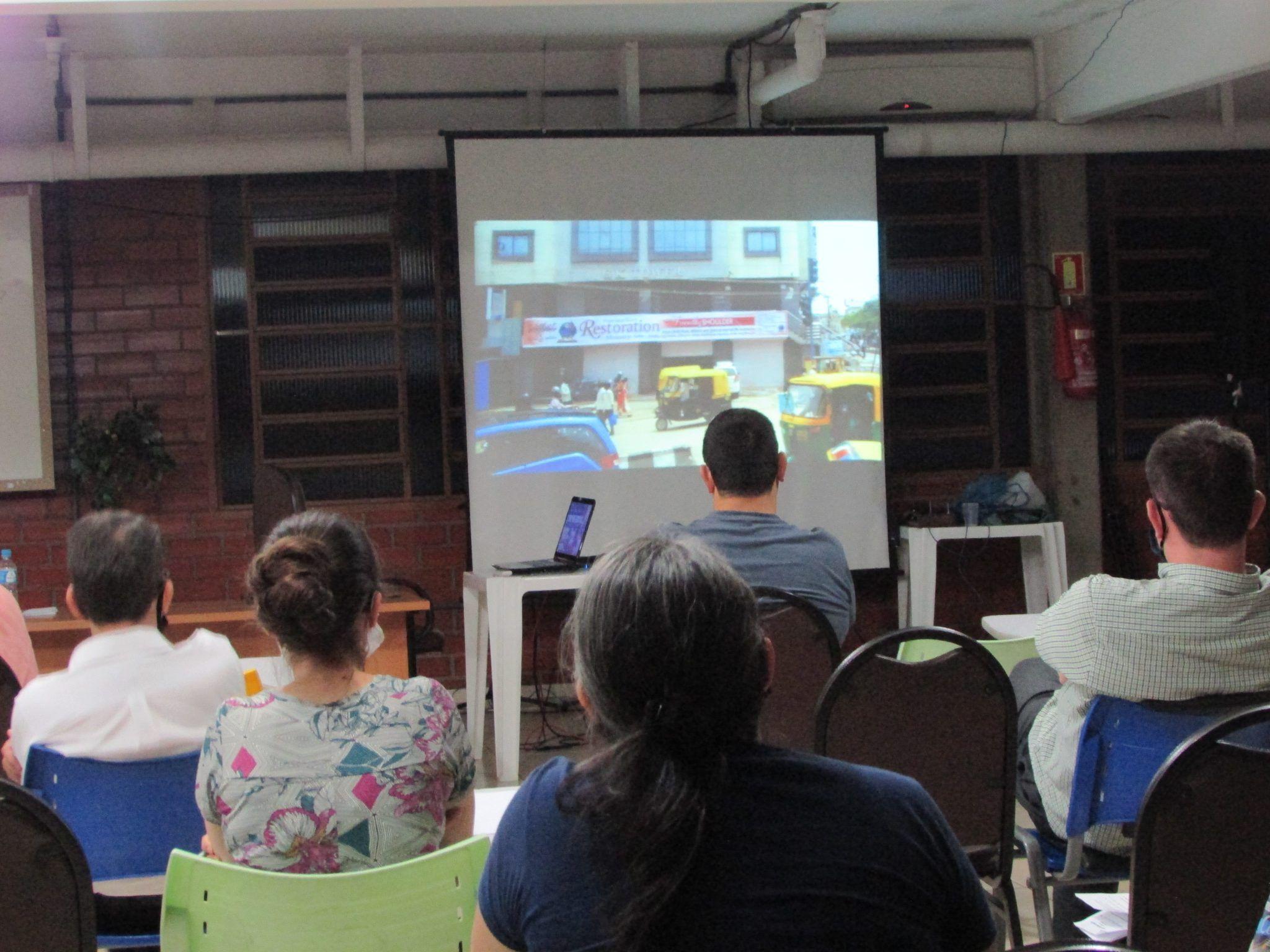 Videoaula sobre o Projeto Índia