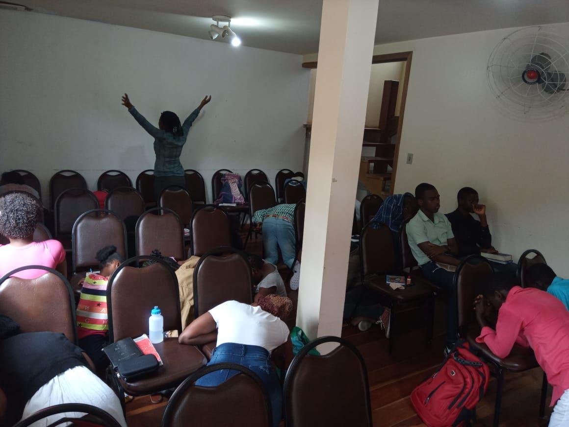 Retiro dos Jovens Haitianos (1)