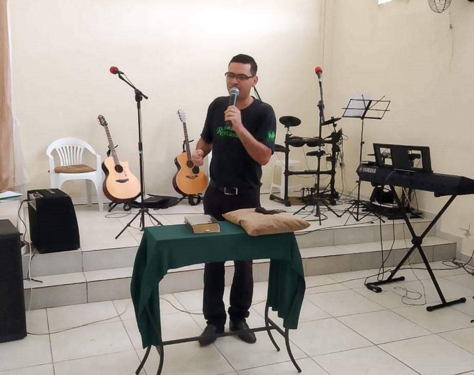 Dc. Adriano Durand, líder da Juventude de Joinville/SC
