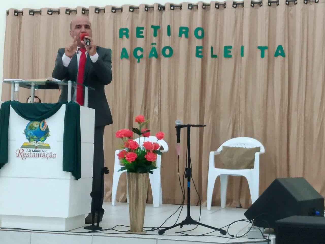 Pr. Marcelo Oliveira, de Itajaí/SC
