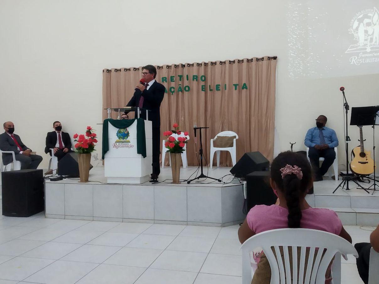 Pb. Geremias da Silva, Supervisor de Jovens da Região Norte de SC e Leste do Paraná
