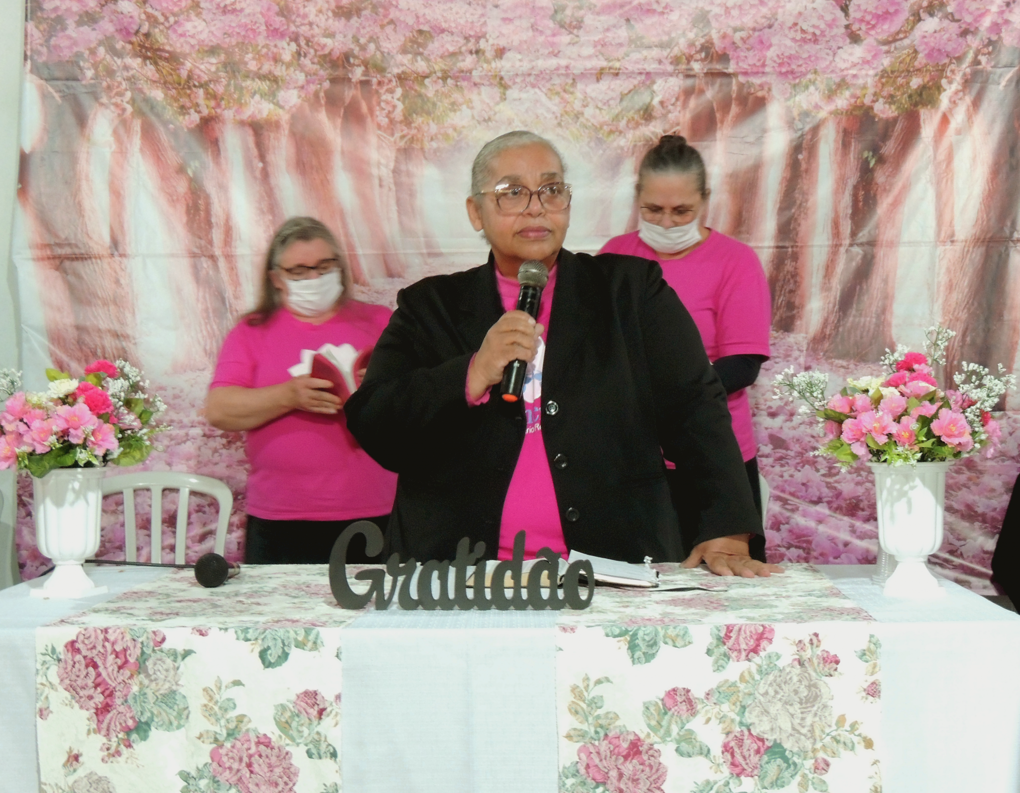 Dcª Rosângela Fernandes, líder da UF da Área Criciúma, ministrou no final da tarde.